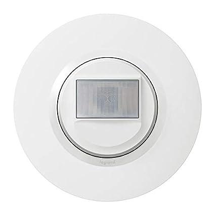Legrand leg95054 interaut 2 F BL CPT dooxie detector de movimiento sin neutro blanco completo Deco