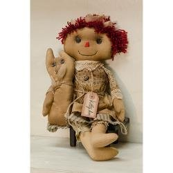 Heart of America Kitty Ann Primitive Doll