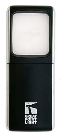 Lightwedge Lighted Pocket Magnifier, Black