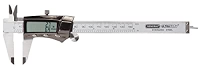 General Tools & Instruments Steel 6-Inch Digital Fractional Caliper with Extra-Large  LCD Screen from General Tools & Instruments