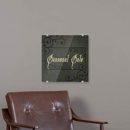 CGSignLab 36x24 Modern Block Premium Acrylic Sign Yard Sale