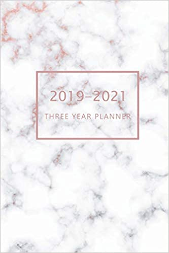 2019-2021 Three Year Planner: 3 Year Planner 2019-202, 36 ...