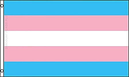 Transgender Pride Flag Rainbow Gay Lesbian LGBT 3x5 Polyester