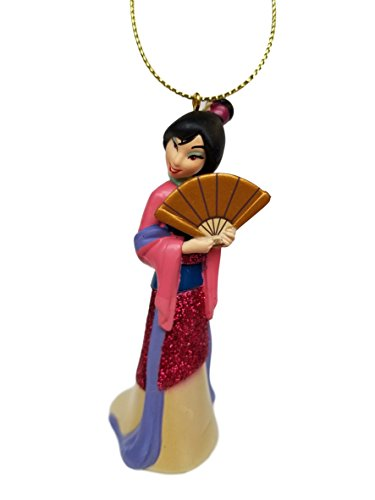 """""""Mulan"""" (Princess) Figurine Holiday Christmas Tree Ornament - Limited Availability – New for Christmas 2017"""