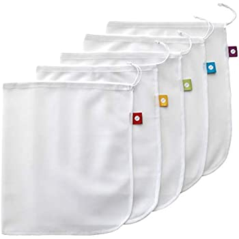 Reusable Produce Bags – Eco Green bags for Fruits and Veggies