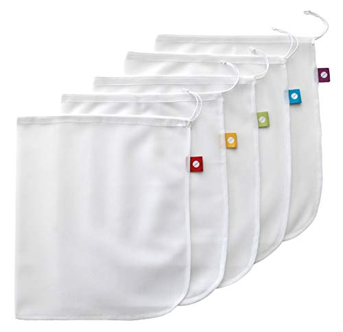 Reusable Produce Bags – Eco Green bags for Fruits and Veggies by flip & tumble (Image #8)