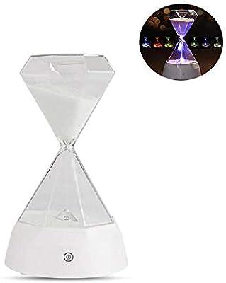Sandglass Lamp With Music, TEEPAO Colorful LED Sleep-ready Light for
