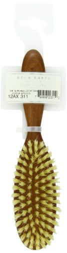 Acca Kappa Professional Pro Hair Brush, Extra Soft Natural Bristle