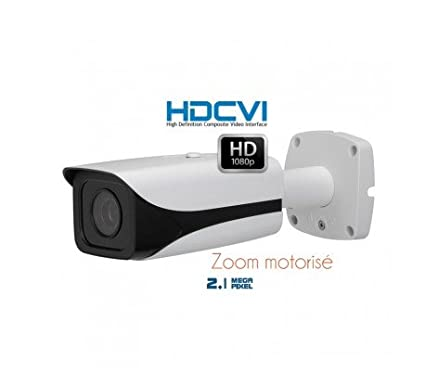 HD-CVI – Cámara de vigilancia HDCVI, IR 100 M, zoom motorizado autofocus