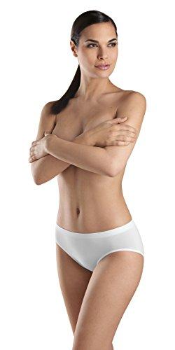 High Cut White Panty Brief - 5