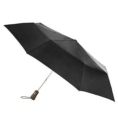 Totes Titan Super Strong Auto Open Close Compact Umbrella