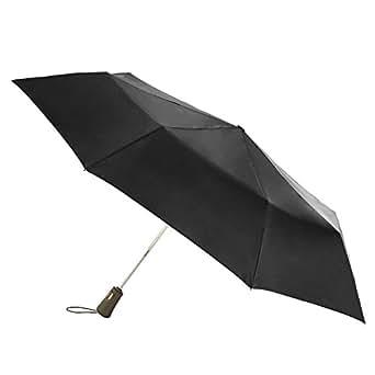 totes Titan Auto Open Close Umbrella,  Black,  One Size