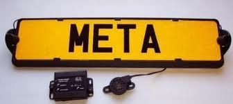RTG Rear Numberplate Parking Sensors Kit Easy Fit