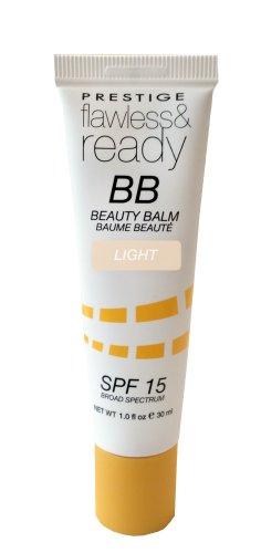 Prestige Flawless and Ready BB Beauty Balm, Light, 1 Fluid Ounce