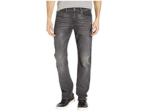 7 For All Mankind Men's Slimmy Slim Straight Authentic Vicious Grey 33 - 7 Cotton Belt All For Mankind