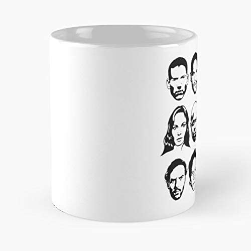 Prison Break Michael Sucre Lincoln T Bag Sara C Note Abruzzi Tweener Haywire Mahone Bellick K The Funny Coffee Mugs For Halloween Holiday Christmas Party Decoration 11 Ounce White Jimwendler Amazon Ca Home Kitchen