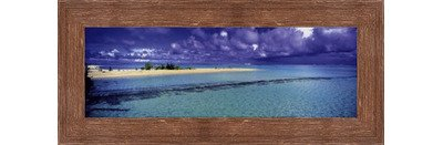 Framed Escapism- 15x5 Inches - Art Print