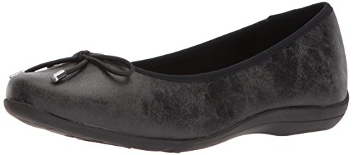 Soft Style by Hush Puppies Women's Heartbreaker Loafer, Black Eclipse, 08.0 M (Black Eclipse Casual Shoes)