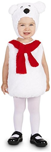Dream Weavers Costumers Cozy Polar Bear Infant Costume -