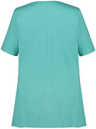 Ulla Popken 719999 koszulka damska w dużych rozmiarach: Ulla Popken: Odzież