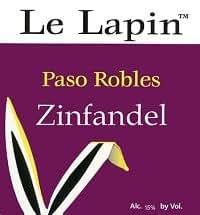 Le Lapin Zinfandel 750ML