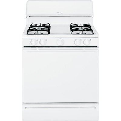 Ge RANGES, OVENS & COOKTOPS 1029457 Hotpoint 30'' 4.8 Cu. ft. Free-Standing Gas Range, White