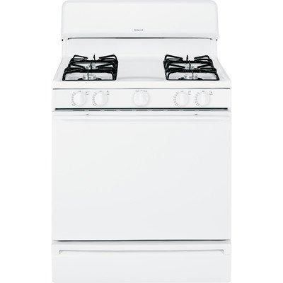 White 30 In Gas Range - 2