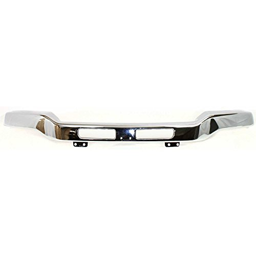 Bumper for GMC Sierra 03-07 Front Bumper Chrome w/Fog Light Hole Old Body ()