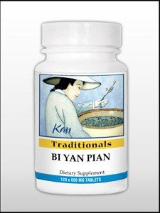 Bi Yan Pian - 120 Tablets by Kan Herbs (Best Over The Counter Swimmers Ear Medicine)