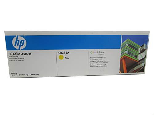 HP CB382A 824A Color LaserJet CM6030 CM6040 CP6015 Toner Cartridge (Yellow) in Retail Packaging (Laserjet Cp6015xh Laser Printer)