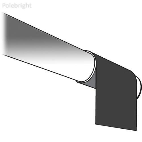 219082マスキングストリップ( 147 x 36インチ、ブラック) - polebright更新 B01N5VA192