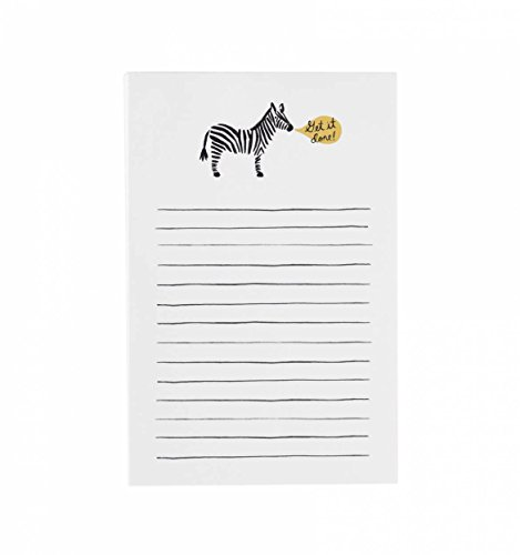 Rifle Paper Co. Zebra Get It Done Notepad