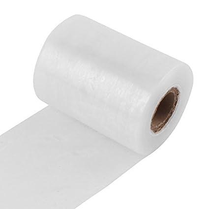 eDealMax polietileno recubierto de mucosa Industrial envoltura elástica Película de embalaje 10 cm de ancho