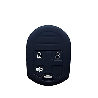 KAWIHEN Silicone Keyless Entry Case Cover Smart Remote Key Fob Cover Protector For Ford 3 Buttons CWTWB1U793 5912560 164-R8070: Automotive