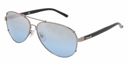 e291365f3c5 D g By Dolce   Gabbana Men s 6047 Gunmetal Frame Light Blue