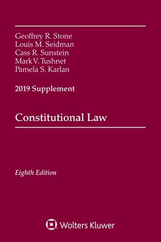 Constitutional Law (Supplement)
