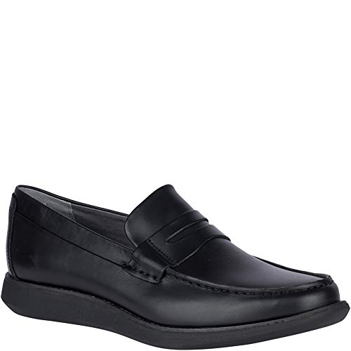 SPERRY Men's Kennedy Penny Loafer, Black, 10.5 M US