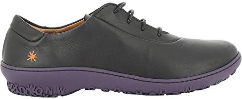 cereza Zapatos Art Black 1421 Brogue Black De antibes Cordones Mujer Para Grass qxfxUnwASP