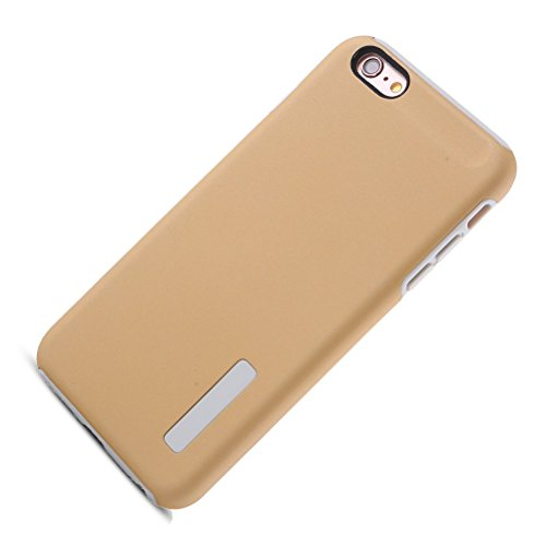 "HICASER iPhone 6S Plus Hülle, Hybrid Dual Layer Case [Shock Proof] Drop Resistance TPU +PC Handytasche Schutzhülle für iPhone 6 Plus/6S Plus 5.5"" Gold"