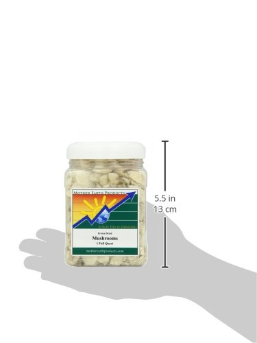 Mother Earth Products Freeze Dried Mushrooms, Quart Jar by Mother Earth Products (Image #2)