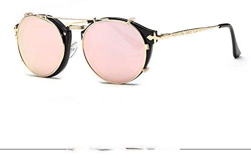 Gafas W De Espejo Hombre Mujer De Sol Azul Conducción negro Rosa W De De Gafas Limotai Nuevos Lentes Sol De Lujo Azul Sol De Gafas espejo Mujer Gafas Solgafas wqtzgH4