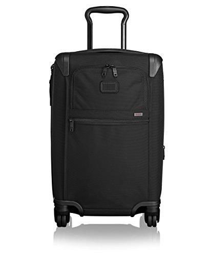 Tumi Alpha 2 4 Wheeled Expandable International Carry-On, Black, One Size by Tumi