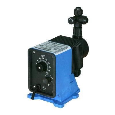 Pulsatron Pump Model LB03SA-VTC1-XXX. 12 GPD / 150 psi max. 115 VAC. PVC Head and ()