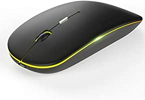 ワイヤレスマウス 充電式 静音 無線マウス 薄型 3DPIモード 2.4GHz 光学式 高感度 type-C変換アダプタ付属 高精度 コンパクト 省エネルギー 持ち運び便利