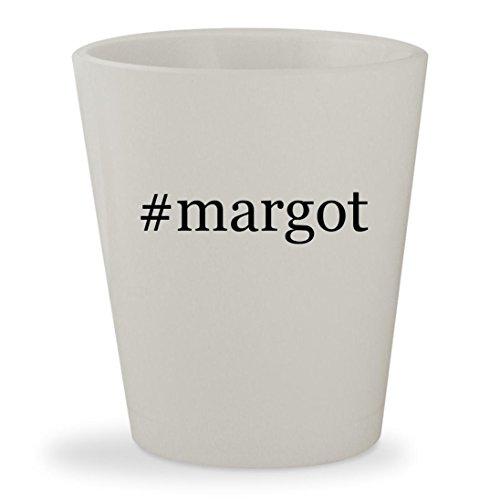 #margot - White Hashtag Ceramic 1.5oz Shot - Coat Margot Tenenbaum