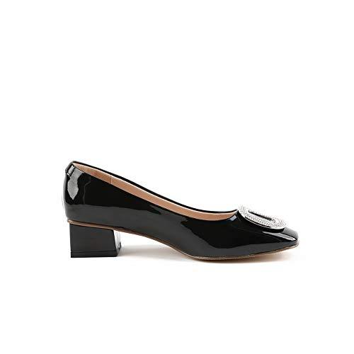 DGU00775 36 AN EU Noir Compensées Sandales 5 Femme Noir OAHqvHd