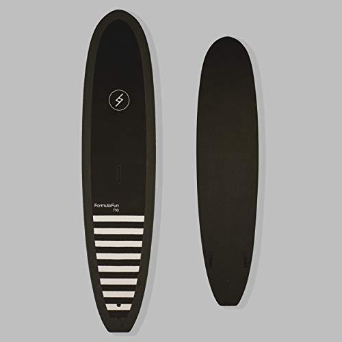 "Formula Fun – 7'10"" Noll Black – Durable, Waterproof and Flexible Foam – Made in The USA"