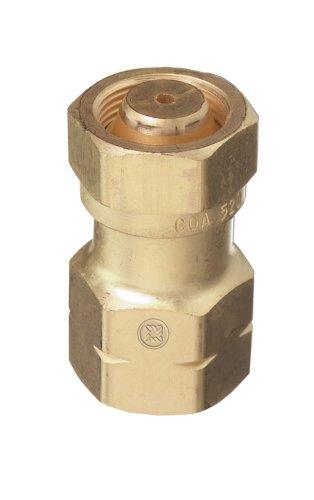 Thoroughbred TB-315 CGA-510 Valve to CGA-520 Acetylene Regulator Adapter