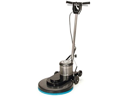 Powr-Flite C1600-3 Classic Metal Electric Burnisher with Power Cord, 1600 rpm, 20