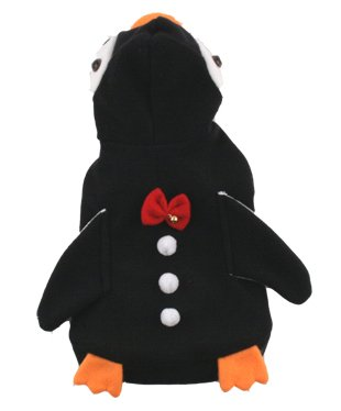 Teacup Size Dog Costumes (Penguin Costume for Dogs - Size 4 (12.5